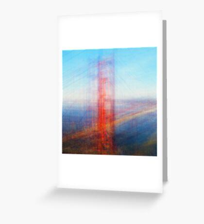Average Golden Gate Bridge Greeting Card