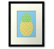 Pineapple in Small Things Framed Print