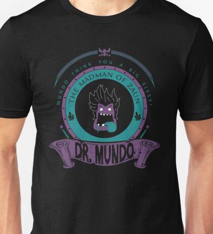 Dr. Mundo - The Madman Of Zaun Unisex T-Shirt