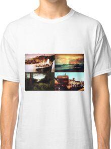 Tiled Edwardian photographs circa 1910 Classic T-Shirt