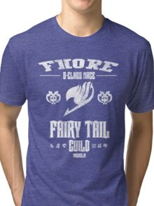 Fairy Tail Class Mage S Tri-blend T-Shirt