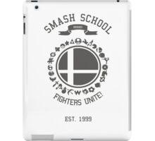 Smash School United (Grey) iPad Case/Skin