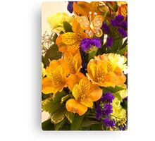 Flowers From Hannah! Canvas Print