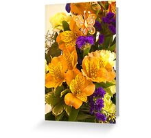 Flowers From Hannah! Greeting Card