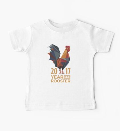 YEAR OF THE ROOSTER 2017 Baby Tee