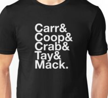 Oakland Raiders Squad (Black) Unisex T-Shirt