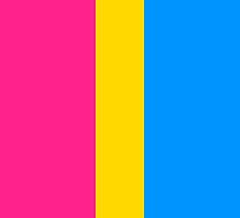 Pansexual Pride (No Symbol) by Annie Louise