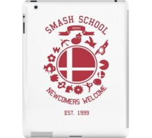 Smash School Newcomer (Red) iPad Case/Skin