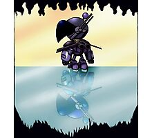 Bulzeeb/Regulus Fire And Ice Reflections (UNOFFICIAL Bomberman) Photographic Print
