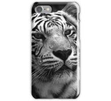 Ivory in black and white  iPhone Case/Skin