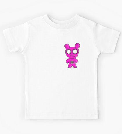 Pink Zombie Bear mk2 Kids Tee