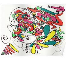Graffiti Linework Poster