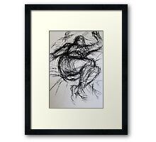 Life Drawing Study Framed Print