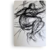 Life Drawing Study Canvas Print