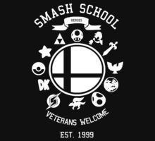 Smash School Veteran Class (White) T-Shirt