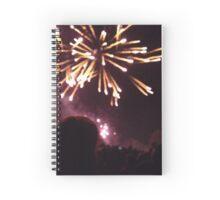 firework night Spiral Notebook