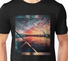 Boat evening  Unisex T-Shirt