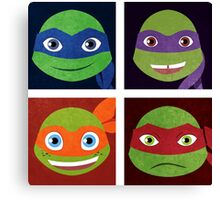 Turtle Bunch Canvas Print
