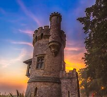 Sunrise At Appley Tower Ryde by manateevoyager