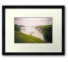 Iceland Waterfall Framed Print