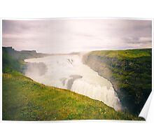 Iceland Waterfall Poster