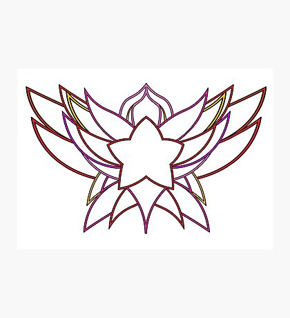 star guardian logo Jinx Photographic Print