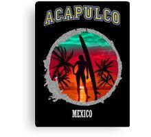 Acapulco Paradise Island Canvas Print