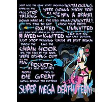 Super Mega Death Team Photographic Print