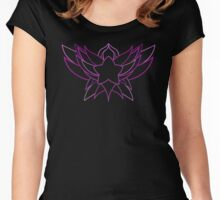 star guardian logo Lux Women's Fitted Scoop T-Shirt