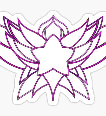 star guardian logo Lux Sticker