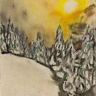 First Sunlight after Storm by David M Scott