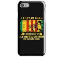 Vietnam War Veteran iPhone Case/Skin