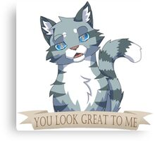 Warrior Cats: Sarcastic Jayfeather Canvas Print