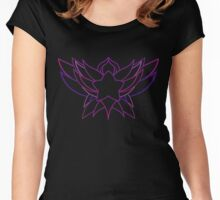 star guardian logo Janna Women's Fitted Scoop T-Shirt