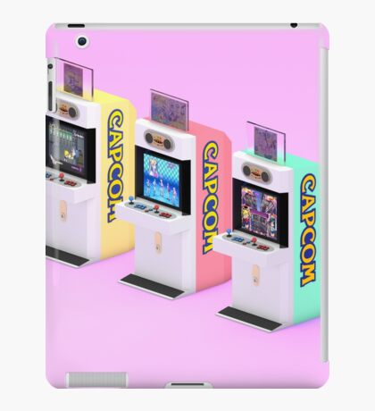 Capcom Mini Cute iPad Case/Skin