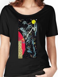 Space War 10, 1961 interior panel by Ditko Women's Relaxed Fit T-Shirt