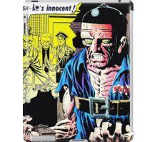 Strange Suspense Stories 19, 1954 cover by Ditko iPad Case/Skin