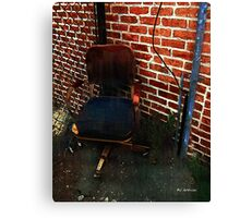 My Throne Canvas Print