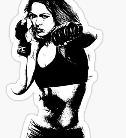 lady gihter Sticker