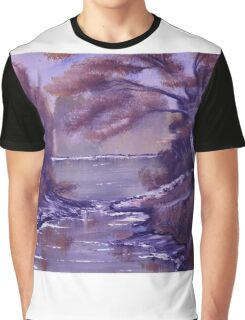 Reflecting Colours Graphic T-Shirt