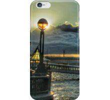 Riverside lamplight - London iPhone Case/Skin