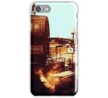 Shipyard circa 1910 iPhone Case/Skin