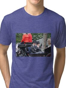 Prince William in a carriage Tri-blend T-Shirt
