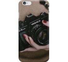 Camera In Hand iPhone Case/Skin
