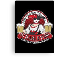 St. Harley Girl Canvas Print