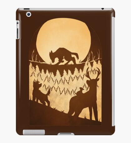 Full Moon in the Forbidden Forest iPad Case/Skin