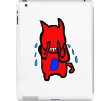 Sad Monster iPad Case/Skin