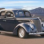 1937 Ford Four Door Sedan I by DaveKoontz