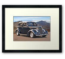1937 Ford Four Door Sedan I Framed Print