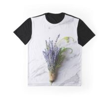 lavender tied with string Graphic T-Shirt